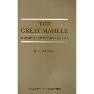 Amazon.com: Chinen - The Great Mahele (9780870221255): Jon J ...