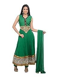 Sareeshut Women's Faux Georgette Regular Fit Anarkali Suits - B00WQZ5WUA
