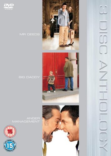 Mr. Deeds/Big Daddy/Anger Management [Import Anglais]