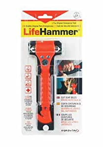 LifeHammer The Original Emergency Hammer (Orange)