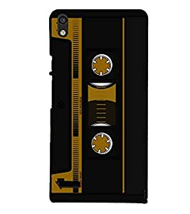 Cassette Player Design 3D Hard Polycarbonate Designer Back Case Cover for Huawei Ascend P6 :: Huawei P6 :: Huawei Ascend P6 Dual