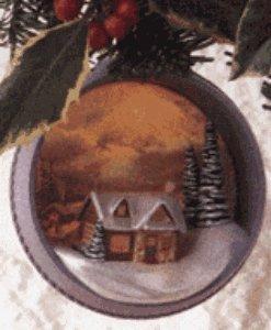 "Hallmark "" The Warmth Of Home""– Thomas Kinkade, Painter of Light MAGIC Keepsake Ornament"