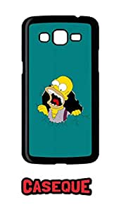 Caseque Eponymous Simpson Back Shell Case Cover For Samsung Galaxy Grand 2