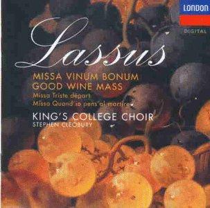 Three Masses: Missa Vinum Bonum / Good Wine Mass / Missa Triste Départ, Missa Quand'io Pens'al Martir