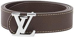 Lotus Designer Men's Belt (Brown)