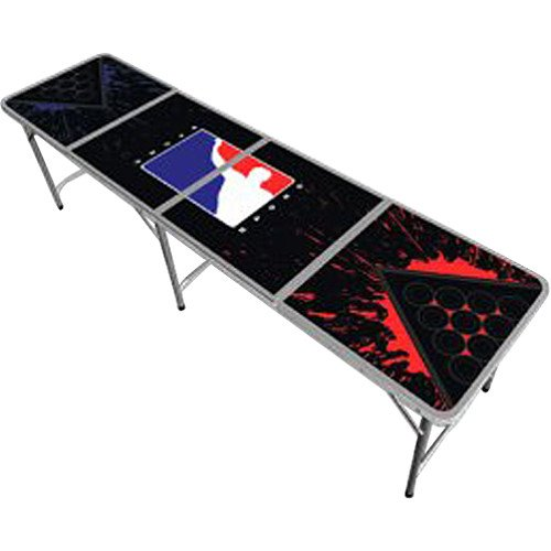 Bpong tailgate table splatter edition wagrzfdsasxzmerzx - Beer pong table triangle dimensions ...