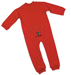 Lil' Joey Toddler Red Union Suit w/ embroidery - 2T   # 480RDS