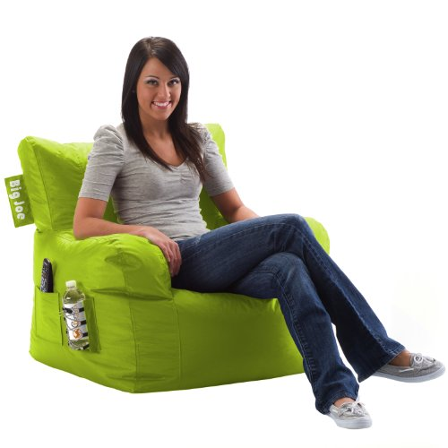 Big Joe Dorm Chair, Spicy Lime front-204147