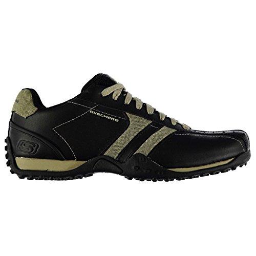 skechers-urban-track-forward-mens-trainers-black-taupe-8-uk-uk-apparel