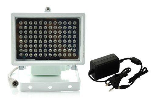 Intsun-96-LED-Infrarot-Strahler-IR-Strahler-Licht-LED-Infrarot-Scheinwerfer-LED-Infrarotlicht-CCTV-Kamera-Nachtsicht-Nachtsicht-1er-AC-110V-240V-Netzteil-Adapter-fr-CCTV-berwachungskamera-Standard-45-