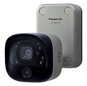 Panasonic センサー付屋外ワイヤレスカメラ VL-WD712K