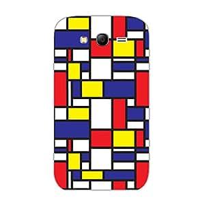Designer Cute Phone Cases for Samsung Grand 3-Mondrian