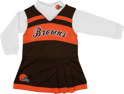 Cleveland Browns Infant Brown Jumper & Turtleneck Set at Amazon.com