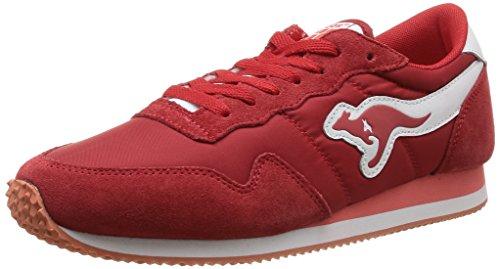 KangaROOS Invader-Basic 47105, Sneaker uomo, Rosso (Rot (red 600)), 43