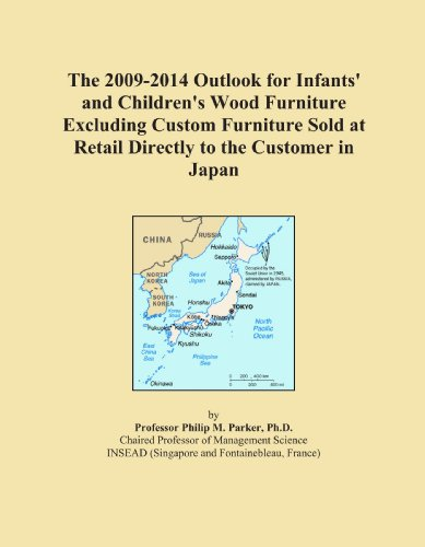 The 2009-2014 Outlook for Infants' and Children's Wood Furniture Excluding Custom Furniture Sold at Retail Directly to the Customer in Japan