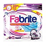 Fabrite Washing Powder In A Sheet - Non Bio Lavender - 12 Sheets