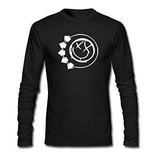 BLINK 182 3 Bars Smiley Logo For Mens Long Sleeves Outlet