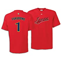 Japan 2009 World Baseball Classic Kosuke Fukudome Player Name and Number T-Shirt by Majestic Athletic