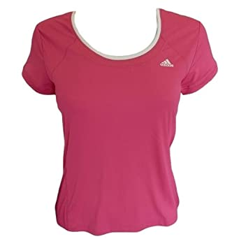 Adidas Dri Fit Ladies Fitness Running T Shirt Womens Gym