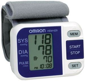 Cheap OMRON HEM-629 WRIST BLOOD PRESSURE MONITOR WITH INTELLISENSE® & AVERAGING (HEM629)