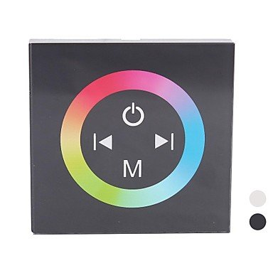 Ddltm08 Led Rgb Touch Panel Controller For Single Color Led Strip (Dc12-24V Input,Max 4A*3Channel Output)