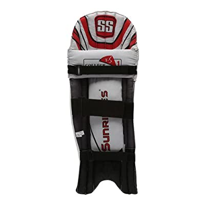 SS College Boy's RH Batting Legguard (White)