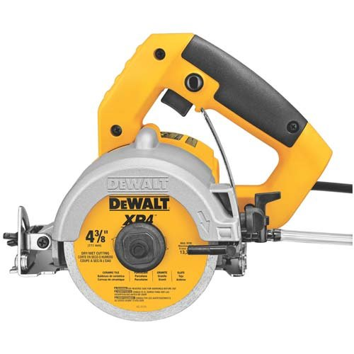 Review DEWALT DWC860W 4-3/8-Inch Wet/Dry Masonry Saw