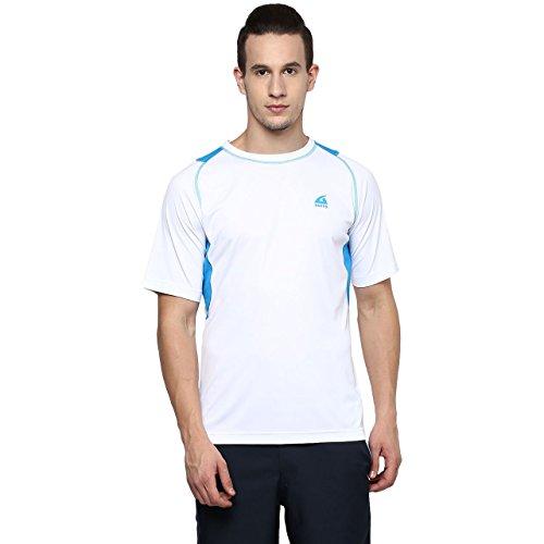 Aurro-Sports-WhiteTurquoise-Win-Big-Crew-T-Shirt-L