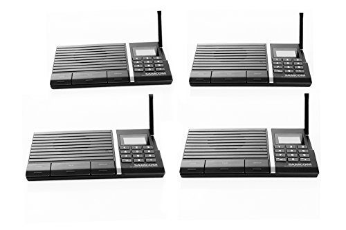Samcom-10-Channel-Digital-FM-Wireless-Intercom-System-for-Home-and-Office-4-Stations