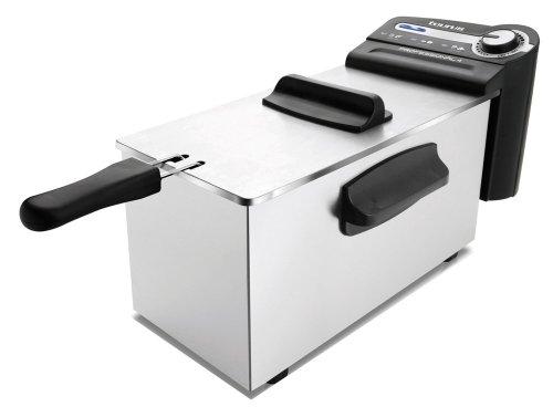 Taurus 973947000, Friggitrice professionale in acciaio inox, 4 L 2200 W