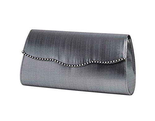 lexus-cartera-de-mano-de-saten-para-mujer-color-gris-talla-talla-unica