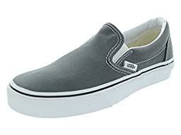 Vans Unisex\'s VANS CLASSIC SLIP-ON SKATE SHOES 10.5 (CHARCOAL)