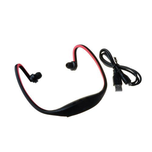 Victsing Wireless Bluetooth Earbuds Stereo Headphones Headsets Microphone Red With Ac Wall Charger For Iphone 4 4S 5 5S 5C Ipad 2 3 4 New Ipad Ipod Android Samsung Galaxy Sony Xperia Htc One Nokia Google Nexus 7 Smart Phones Bluetooth Tablets Devices - Be