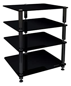 Cheap  Norstone Bergen 2 4 Shelf for Hi-Fi Systems