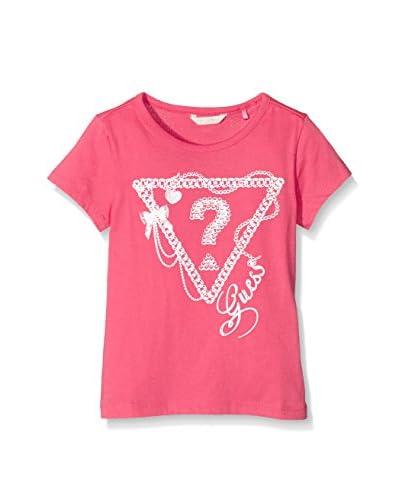 Guess Camiseta Manga Corta Rosa