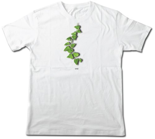 Vegetarian / Vegan, Eco Friendly, Virid Leaf Cotton T-shirts