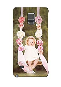 Sowing Happiness Printed Back Cover for Samsung Galaxy Note 4