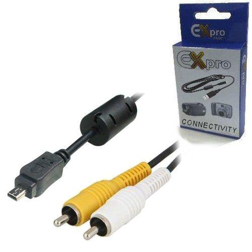 Ex-Pro Pentax Optio I-AVC7 IAVC7 Kabel AV Audio Video Ausgang, für ist DS, ist DL, ist DS2, K5, K-5, K7, K-7, K-r, Kr, KD100, K100d, K110d, K200d SLR, Kx, K-X, KD10