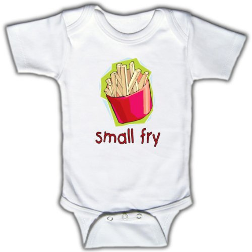 funny baby onesies. Small fry - Funny Baby Onesie