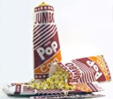"Jumbo Popcorn Bags (12"") - 50 Count"