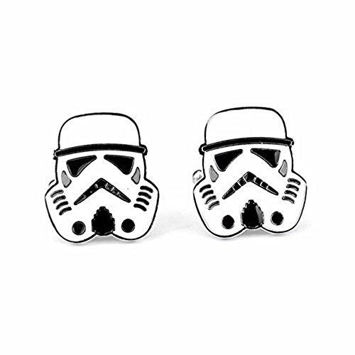 Star Wars Men's Stormtrooper Helmet Cufflinks W/Gift Box
