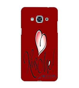 SAMSUNG GALAXY J3 PRO HEART Back Cover by PRINTSWAG