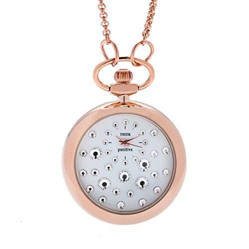 ladies-think-positiver-modell-se-w117r-star-dust-rose-cipollone-mit-stahlkette-farbe-weiss