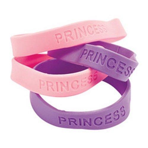 Rubber Princess Bracelets (1 dz)