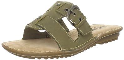Minnetonka Women's Calhoun Slide Sandal,Moss,10 M US