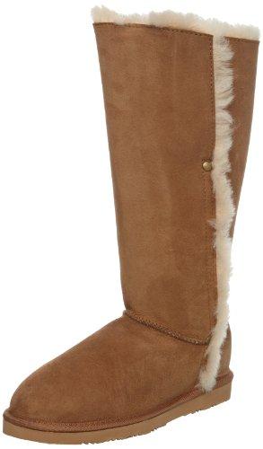WLM New Zealand Women's Splitt Chestnut Knee High Boots SPLCHT 5 UK, 38 EU, 6 US