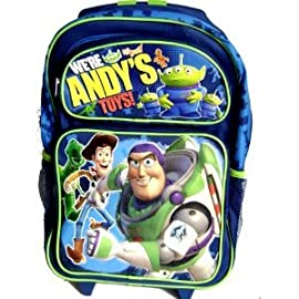 Disney Toy Story 3 - Large Rolling Backpack - Toy Story Rolling Backpack
