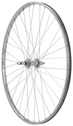 Avenir 36H Steel 27 Inch x 1-1/4 Inch 5-7spd Freewheel Silver Wheel (Rear)