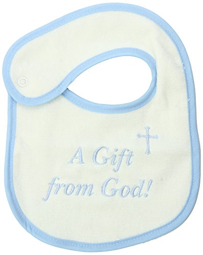 Raindrops Embroidered Bib, A Gift from God