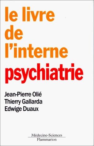 Le livre de l'interne : psychiatrie